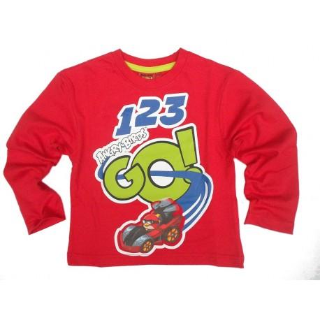 Bluzka z długim rękawem Angry Birds Go